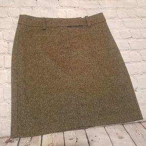 Trina Turk Los Angeles  gray tweed skirt 4